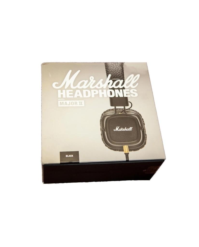 MARSHALL MAJOR II HEADPHONES - ΜΑΥΡΟ