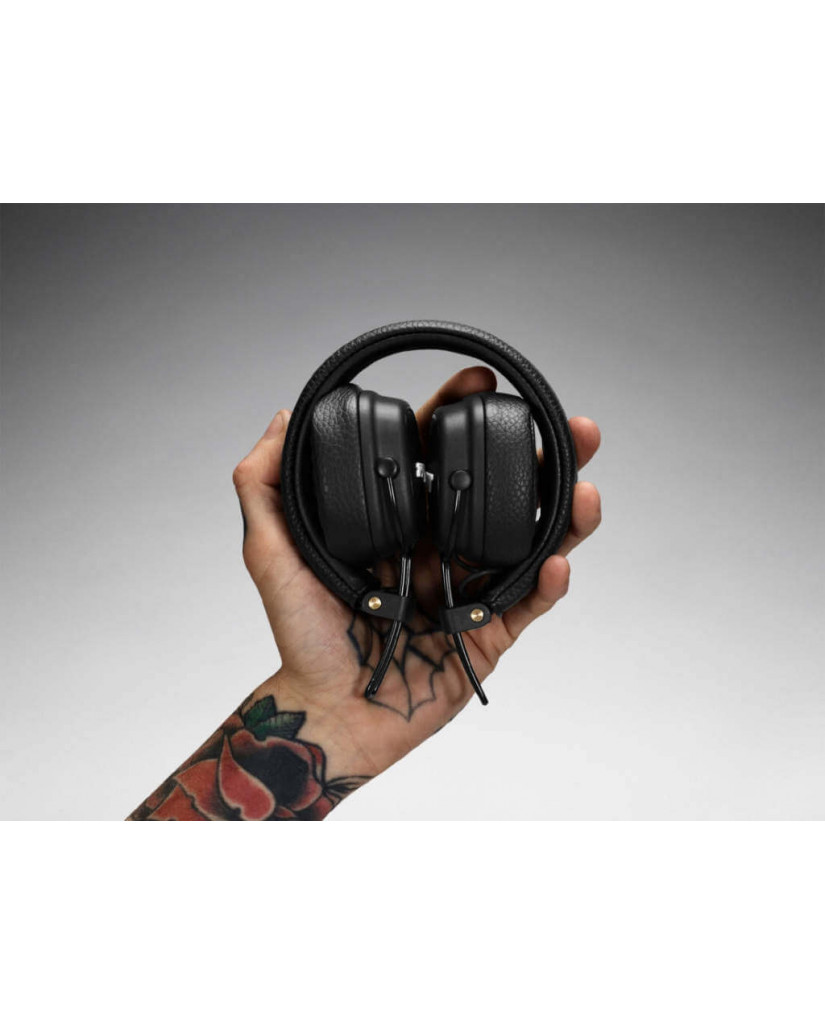MARSHALL MAJOR III BLUETOOTH WIRELESS STEREO HEADSET - ΜΑΥΡΟ