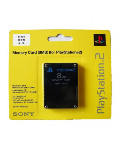 MEMORY CARD - ΚΑΡΤΑ ΜΝΗΜΗΣ 8MB ΓΙΑ PS2