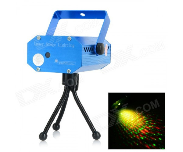 MINI LASER STAGE LIGHTING YX-09 ΦΩΤΟΡΥΘΜΙΚΟ LASER RED/GREEN