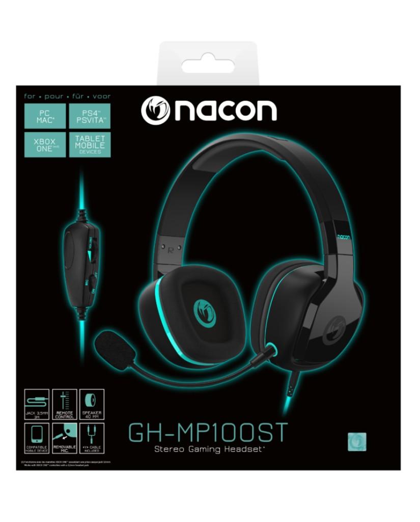 NACON GH-MP100ST GAMING HEADSET - PS4 / XBOX ONE / PS VITA / PC / MAC