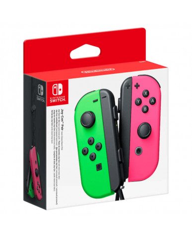 Nintendo Switch Joy-Con Pair - Neon Green / Neon Pink