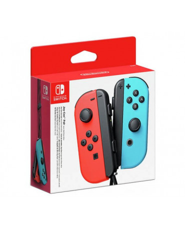 Nintendo Switch Joy-Con Pair - Neon Red / Neon Blue