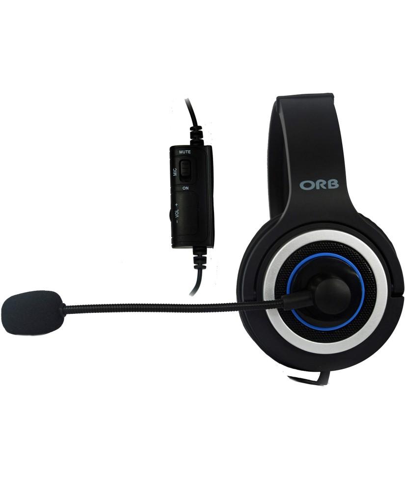 ORB GP3 GAMING HEADSET ΓΙΑ PS4 - ΜΑΥΡΟ