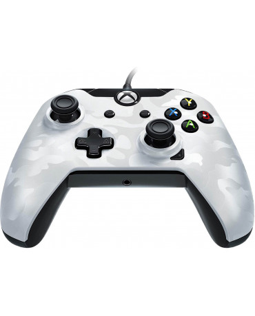 PDP Xbox One Wired Controller Stealth Series - Ghost White