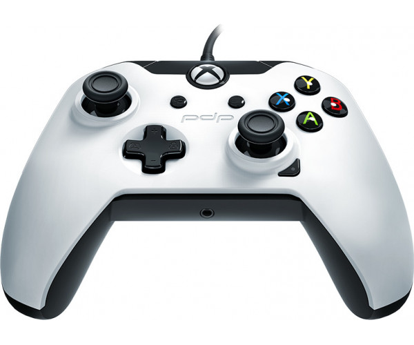 PDP Xbox One & PC Wired Controller Stealth Series - Arctic White