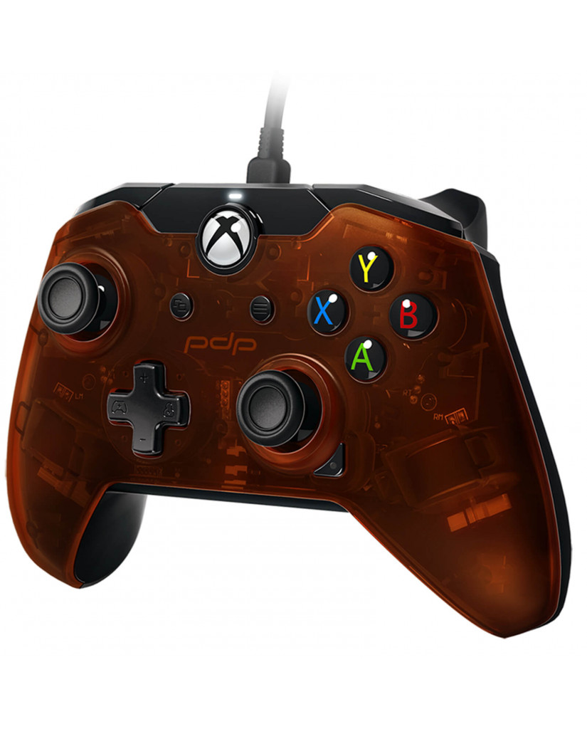 PDP Xbox One & PC Wired Controller – Orange Ardent