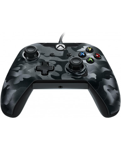 Xbox One Wired Controller PDP Stealth Series - Phantom Black