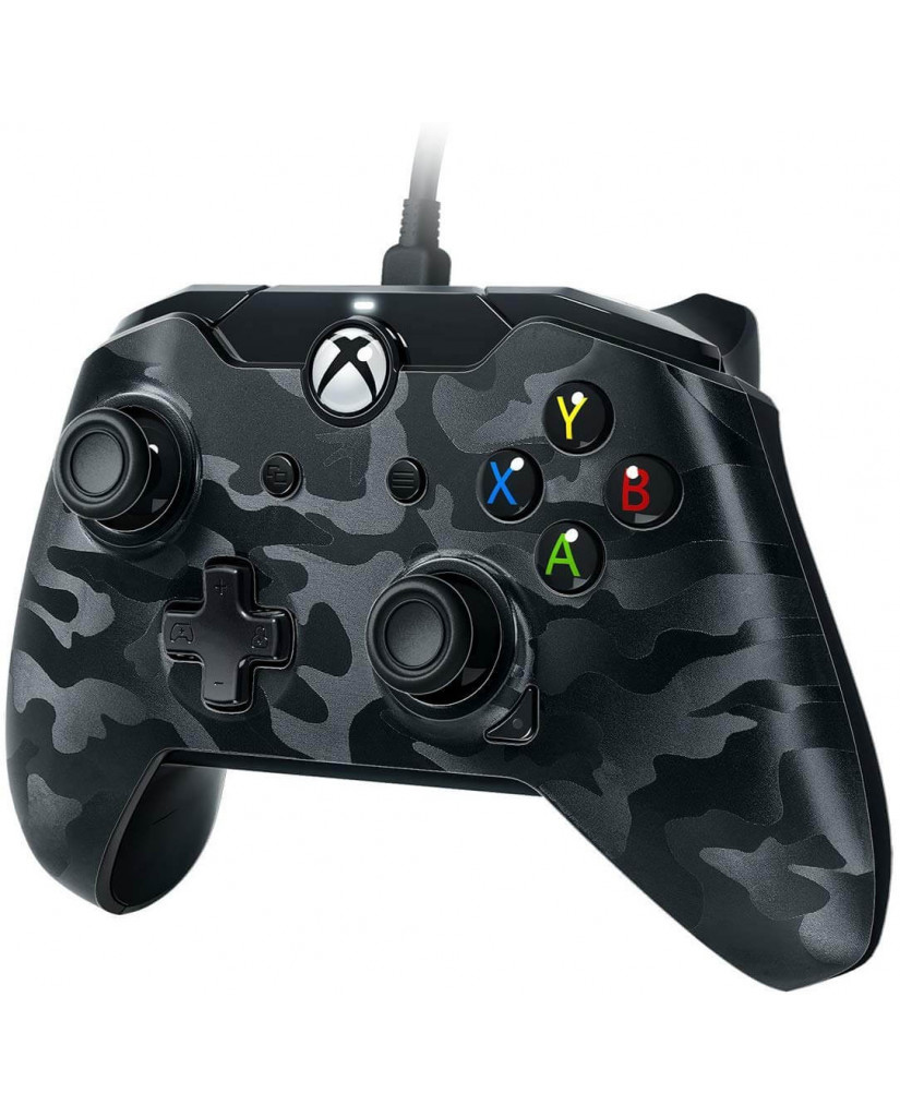 PDP Xbox One & PC Wired Controller Stealth Series - Phantom Black