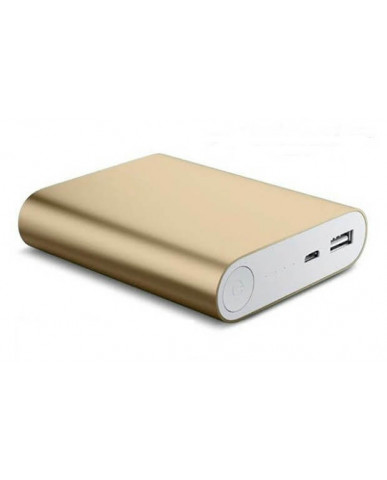Power Bank OEM - 5V 2.1A 10400mah - 847270 - Χρυσό