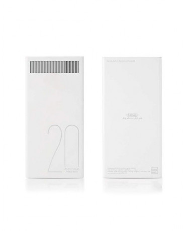 POWER BANK REMAX RPL-58 20000MAH - ΛΕΥΚΟ