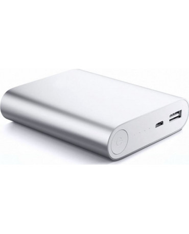Power Bank OEM - 5V 2.1A 10400mah - 847270 - Ασημί