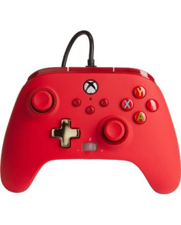 PowerA Enhanced Wired Controller για Xbox One/Xbox One S/Xbox One X - Κόκκινο
