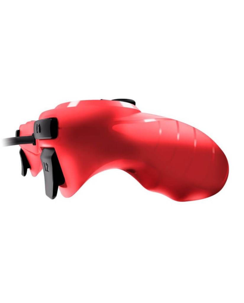 Ενσύρματο Χειριστήριο PS3 Gioteck VX-3 - Κόκκινο