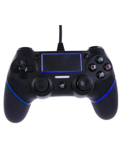 Ενσύρματο Χειριστήριο PS4 OEM Doubleshock 4 Με καλώδιο 1.5 μέτρο - Μαύρο