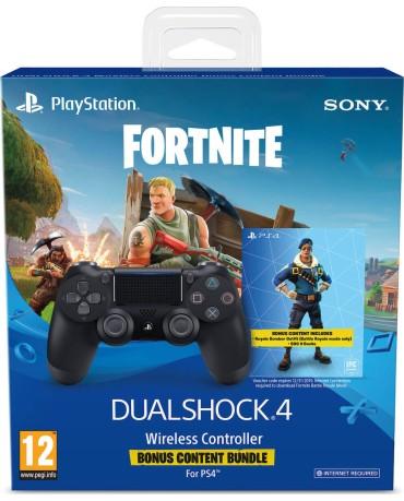 Sony DualShock 4 V2 - Χειριστήριο PS4 + Fortnite VCH - Μαύρο