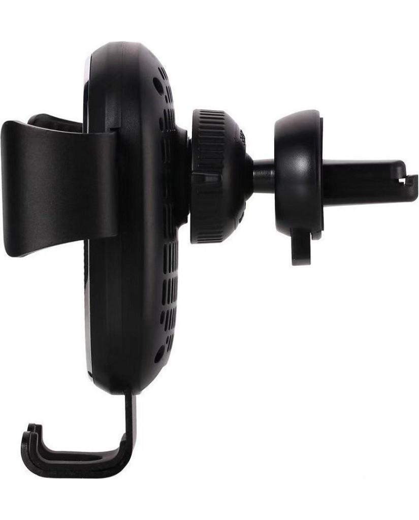 Remax RM-C38 Air Vent Black Βάση Στήριξης Αυτοκινήτου με Ασύρματη Φόρτιση