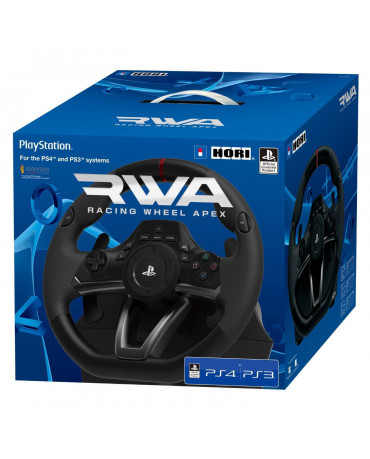 HORI RACING WHEEL APEX - ΤΙΜΟΝΙΕΡΑ ΓΙΑ PS3 / PS4 / PC