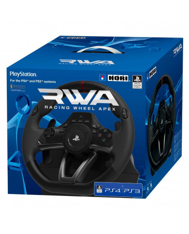 HORI RACING WHEEL APEX - ΤΙΜΟΝΙΕΡΑ ΓΙΑ PS3/PS4/PC