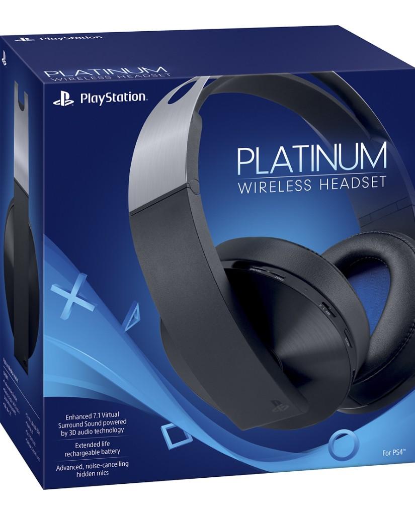 SONY PS4 PLATINUM WIRELESS HEADSET 7.1 – ΜΑΥΡΟ