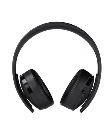 Sony Official Wireless Stereo Headset 7.1 Ασύρματα Ακουστικά New Gold Version PS4 / PS3 / PC / Mac - Μαύρο