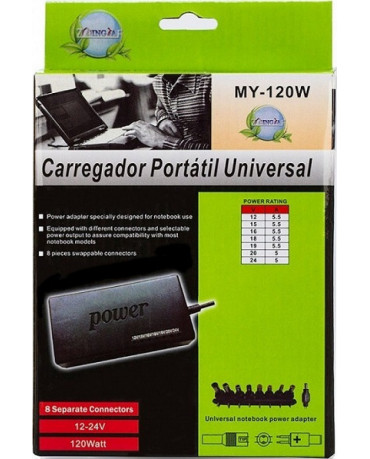 Φορτιστής για Laptop - OEM AC / DC Adapter 120W Universal