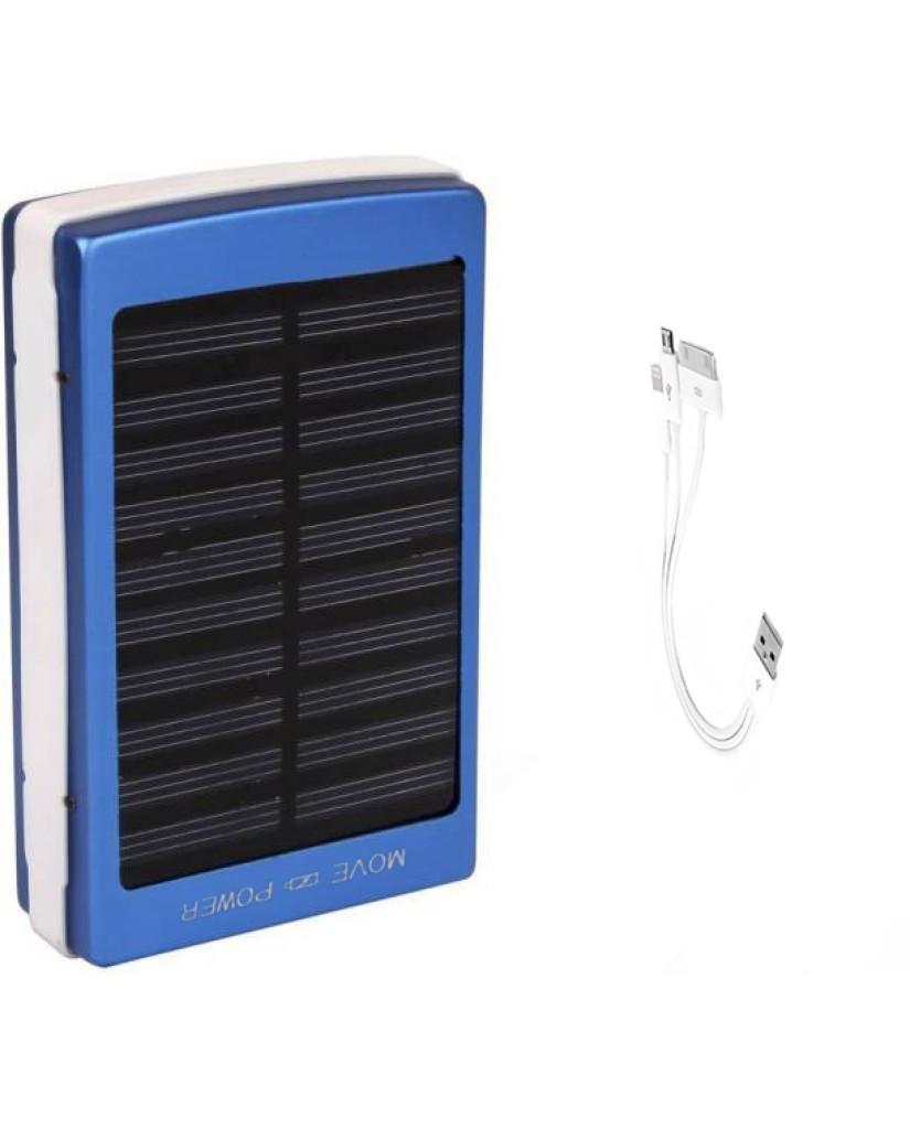 Solar Charger - Ηλιακός Φορτιστής Υψηλής Ισχύος 20000MAH - Μπλε