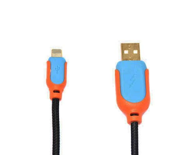 OEM USB TO LIGHTNING CABLE – ΚΑΛΩΔΙΟ ΔΕΔΟΜΕΝΩΝ ΓΙΑ APPLE - ΓΑΛΑΖΙΟ & ΠΟΡΤΟΚΑΛΙ