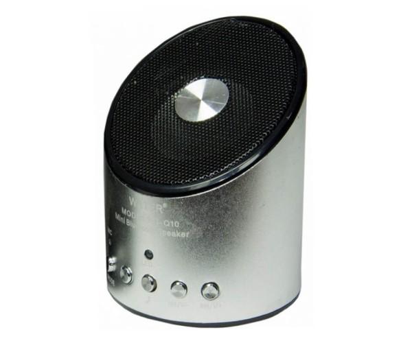 WIRELESS SPEAKER WSTER WS-Q10 3cmx6cmx6cm – ΑΣΗΜΙ