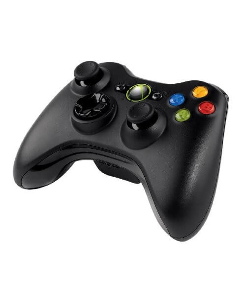 Microsoft Ασύρματο Χειριστήριο Xbox 360 - Μαύρο