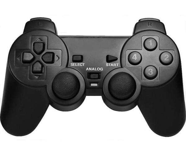 Ασύρματο Χειριστήριο PC & PS3 OEM Wireless Vibration Controller - Μαύρο