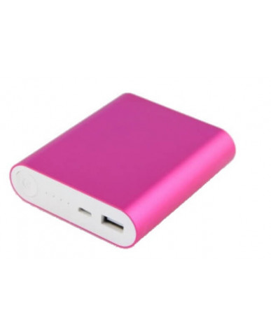 Power Bank OEM - 5V 2.1A 10400mah - 847270 - Ροζ