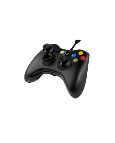 Microsoft Ενσύρματο Χειριστήριο Xbox 360 & PC - Μαύρο