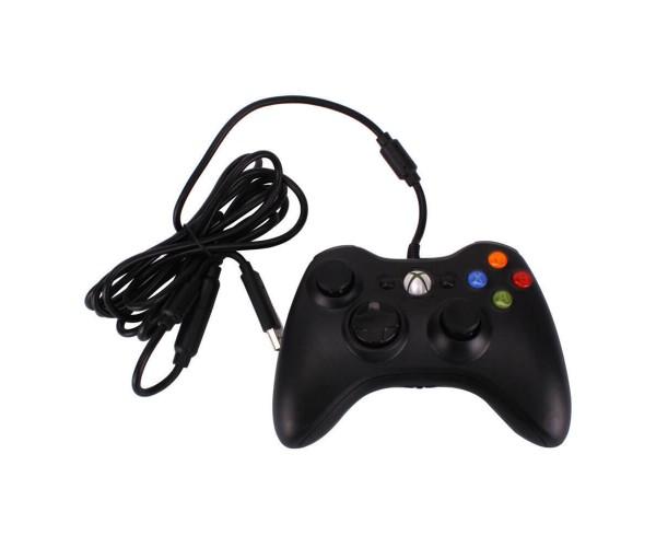 Ενσύρματο Χειριστήριο Xbox 360 & PC - Μαύρο
