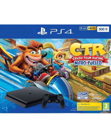 Sony PlayStation 4 - 500GB Slim & Crash Team Racing Nitro-Fueled EU