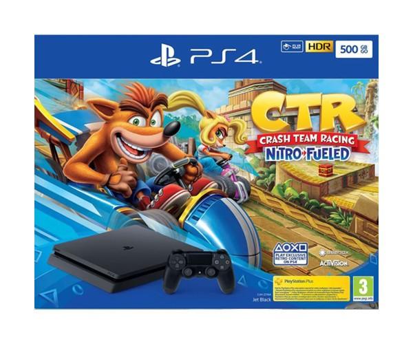 Sony PlayStation 4 - 500GB Slim & Crash Team Racing Nitro-Fueled EU