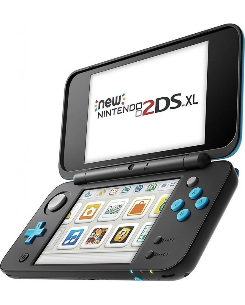 New Nintendo 2DS XL – Μαύρο / Τιρκουάζ