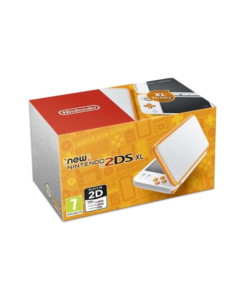 New Nintendo 2DS XL – Λευκό / Πορτοκαλί
