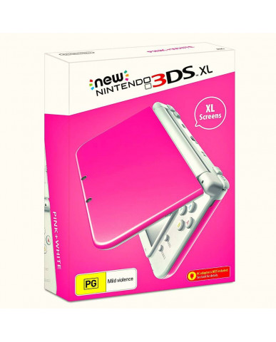 New Nintendo 3DS XL - Ροζ / Λευκό