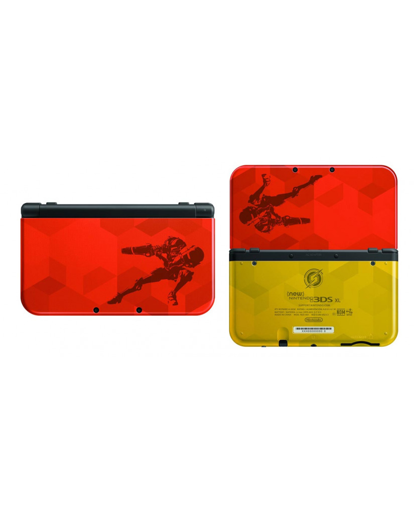 NEW NINTENDO 3DS XL SAMUS RETURNS LIMITED EDITION