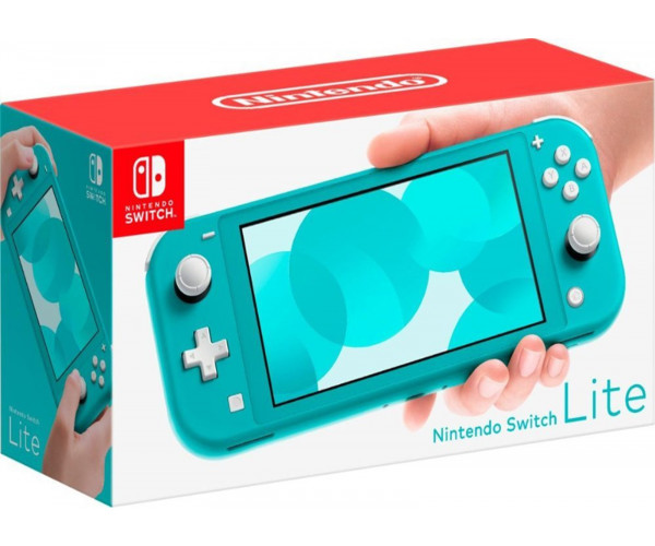 NINTENDO SWITCH LITE CONSOLE TURQUOISE - 32GB