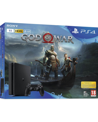 Sony PlayStation 4 - 1TB Slim & God of War