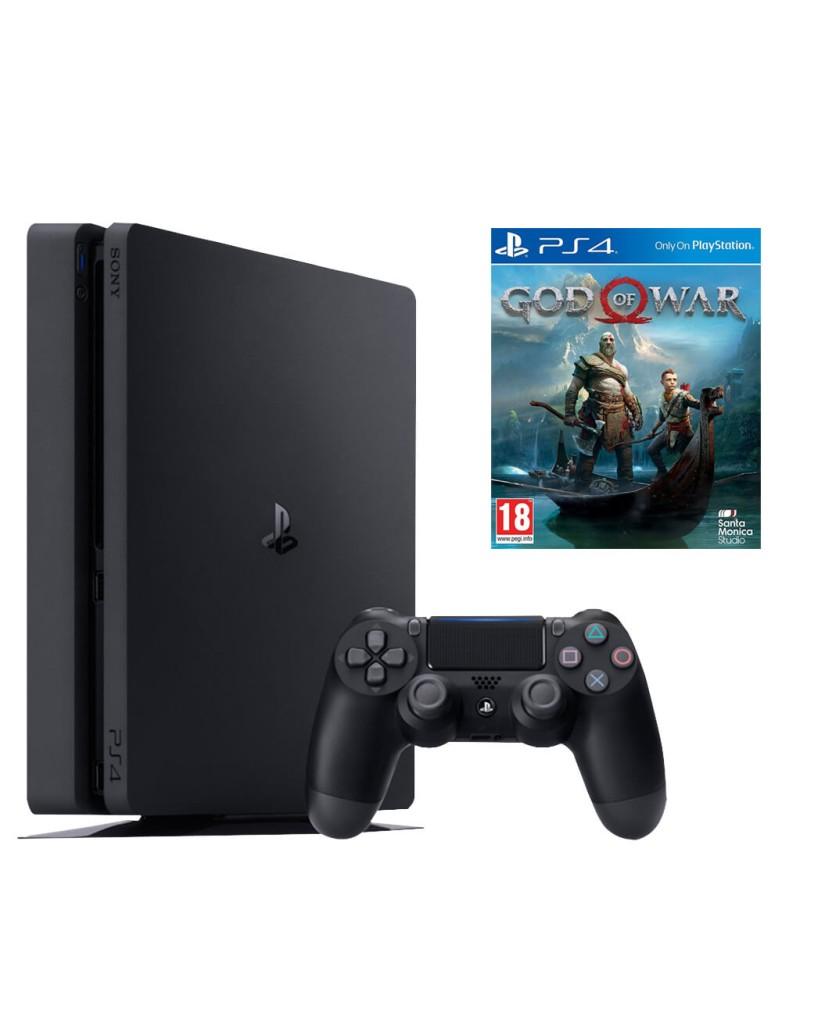Sony PlayStation 4 - 1TB Slim & God of War