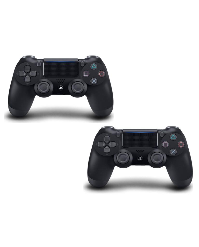 Sony PlayStation 4 - 1TB Slim Black + FIFA 18 Ultimate Team Icons + FIFA World Cup Update + 2 Χειριστήρια DualShock 4