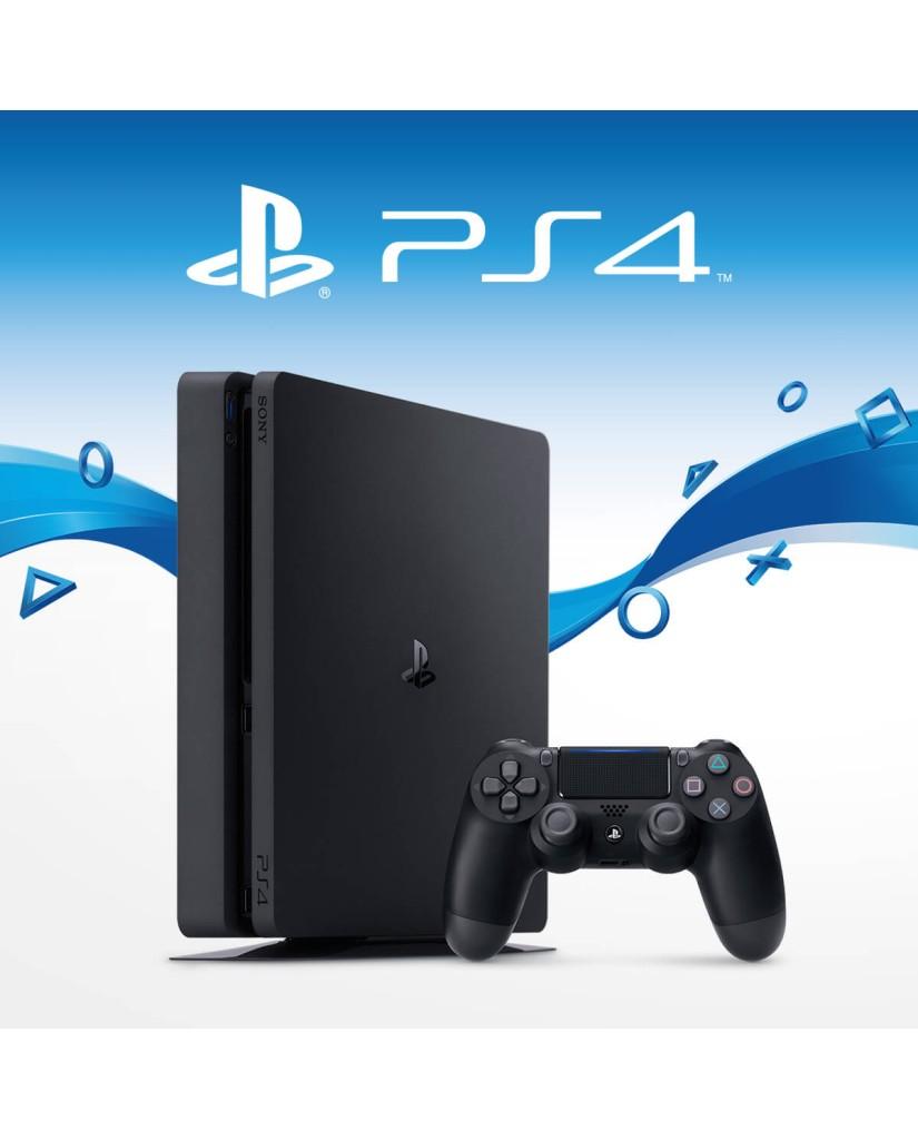 Sony PlayStation 4 - 1TB Slim Black