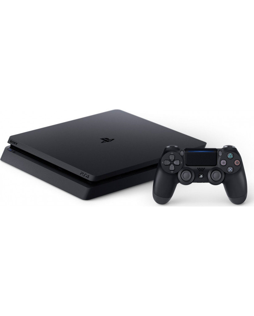 SONY PLAYSTATION 4 - 1TB SLIM BLACK + RED DEAD REDEMPTION 2