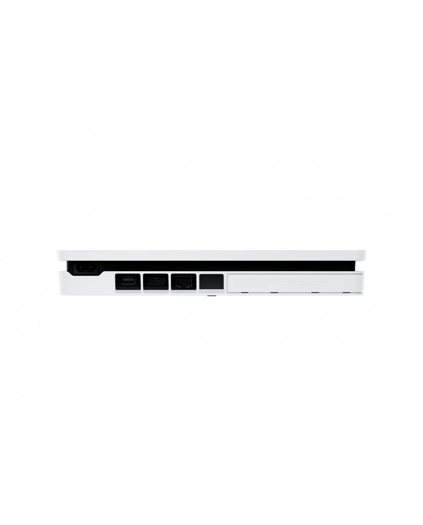Sony PlayStation 4 - 500GB Slim White + Star Wars Battlefront II + The Last Jedi Heroes DLC