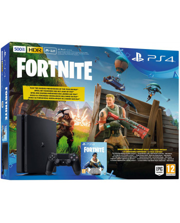 Sony PlayStation 4 - 500GB Slim + Fortnite