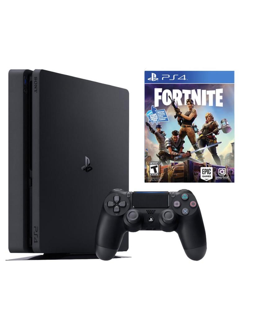 Sony PlayStation 4 - 500GB Slim + Fortnite