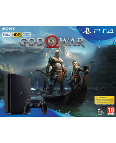 Sony PlayStation 4 - 500GB Slim & God of War